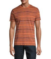 ben sherman men's autumn stripe t-shirt - autumn leaves - size l