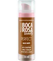 base líquida matte hd 30ml 7 marcia - boca rosa beauty by payot único