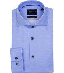 duetz1857 duetz 1857 overhemd dress lichtblauw