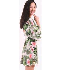 mini vestido seda blanco night concept