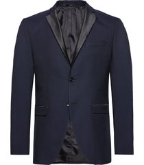 slhslim-tigalogan navy tux blz b blazer colbert blauw selected homme
