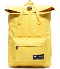 mochila look amarillo xtrem