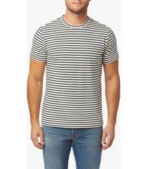 men's striped crew neck tee