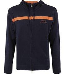 brunello cucinelli logo zip jacket