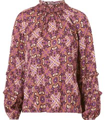 blus georgine blouse