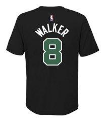 jordan boston celtics youth statement name and number t-shirt - kemba walker