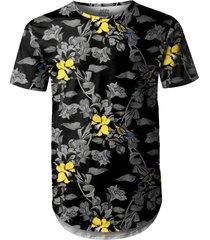 camiseta longline over fame preto - kanui