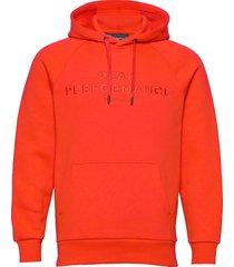 m orig h hoodie trui rood peak performance