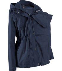 giacca prémaman con gilet rimovibile (blu) - bpc bonprix collection