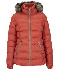 giacca invernale con cappuccio (marrone) - john baner jeanswear