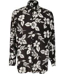 black lyocell shirt