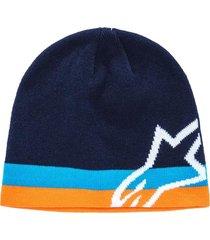 gorro corp speedster beanie azul marino alpinestars