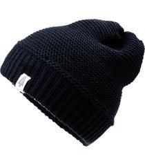gorro lana peter negro weinbrenner