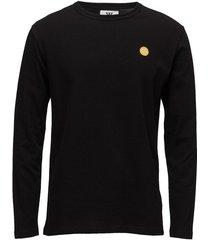 mel long sleeve t-shirts long-sleeved zwart wood wood