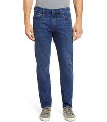 men's 34 heritage courage slim leg jeans, size 40 x 34 - blue