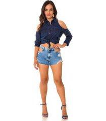 shorts jeans express hot pants gaulent feminino