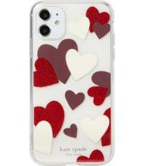 kate spade new york celebration hearts iphone 11 case