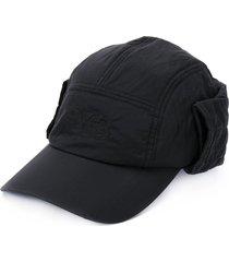 y-3 quilted cap - black