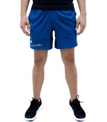 pantaloneta azul under armour speed stride graphic 7