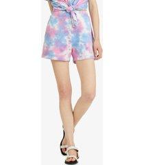 sanctuary sunsoaker tie-dyed shorts