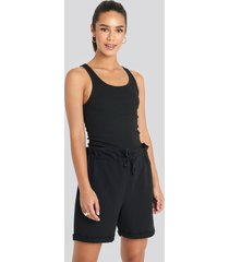 trendyol paperbag shorts - black