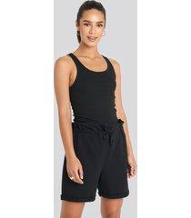 trendyol paperbag shorts - black