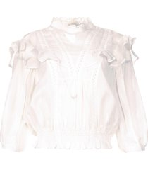 ruches blouse hysteria  wit