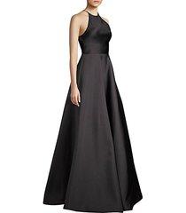 modern ball gown