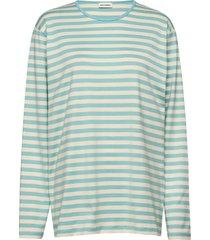 pitkähiha t-shirts & tops long-sleeved blauw marimekko