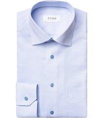 eton shirt lichtblauw