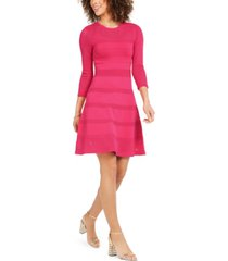 vince camuto knit fit & flare dress