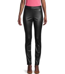 bailey 44 women's lela vegan leather pants - black - size s