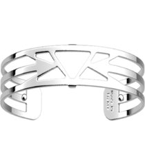 les georgettes by altesse triangular openwork thin adjustable cuff bracelet