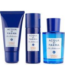 acqua di parma men's blu medierraneo arancia di capri 3-piece set