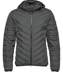 jacket fodrad jacka grå ea7