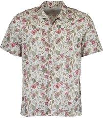 floral bowling shirt