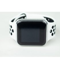 relógio smartwatch fitgear skill pro branco/prata