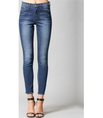 flying monkey high rise regular hem ankle skinny jeans