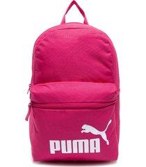 mochila ftbl play backpack fucsia puma