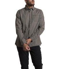camisa galiton pro gris rockford