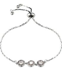 nicole miller three bead slider bracelet
