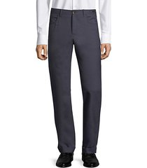 dressy five-pocket techno wool pants