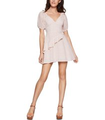 bcbgeneration cotton eyelet mini dress
