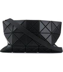 bao bao issey miyake geometric panelled clutch - black