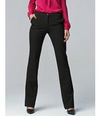 spodnie bootcut czarne