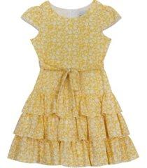 rare editions big girls ruffle tiered dress