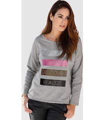 sweatshirt smith & soul grijs