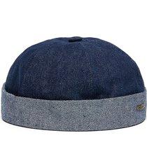 denim sailor hat