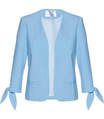 blazer con manica a 3/4 (blu) - bpc selection