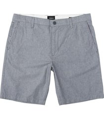 short that walk oxford gris rvca